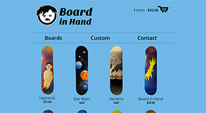 Board in Hand screenshot